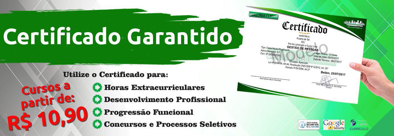 Banner Promocional do Site Amazônia Cursos